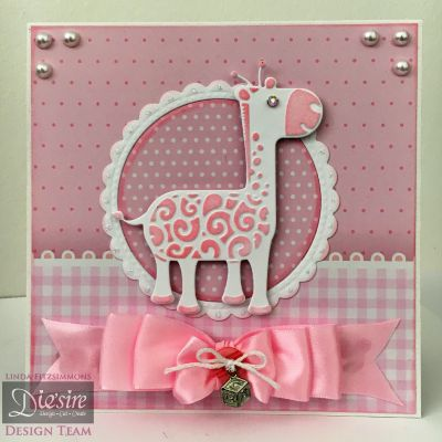 Card made with the Sara Signature Little Angel Collection from #crafterscompanion