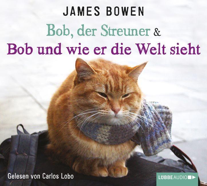 James Bowen, BOB, DER STREUNER & BOB UND WIE ER DIE WELT SIEHT: Als James Bowen den verwahrlosten Kater vor seiner Tür fand, hätte man kaum sagen können, wem von beiden es schlechter ging. James schlug sich als Straßenmusiker durch. Aber dem abgemagerten Kater konnte er einfach nicht widerstehen, er nahm ihn auf, pflegte ihn gesund und ließ ihn wieder laufen. Doch Bob liebte seinen neuen Freund mehr als die Freiheit und blieb.