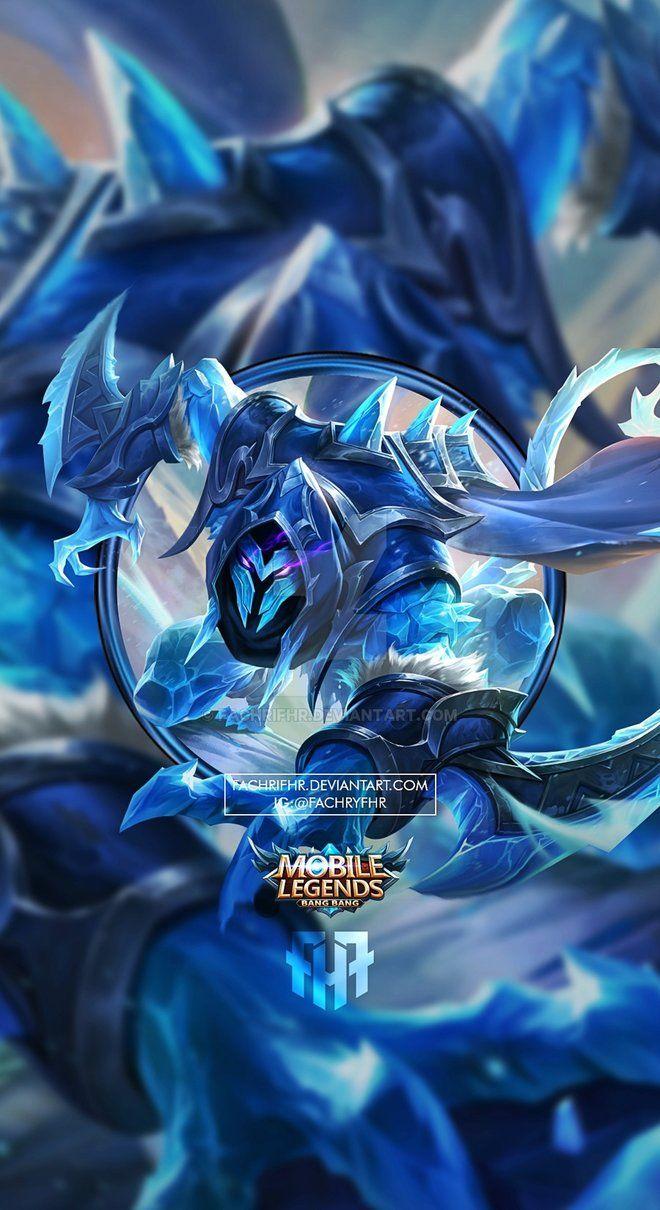 Wallpaper Phone Helcurt Ice Scythe By FachriFHR Dengan