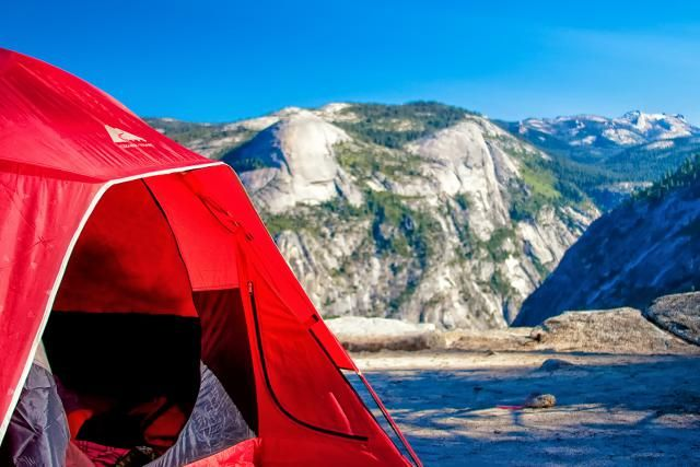 Yosemite camping - how to make Yosemite camping reservations, camping tips