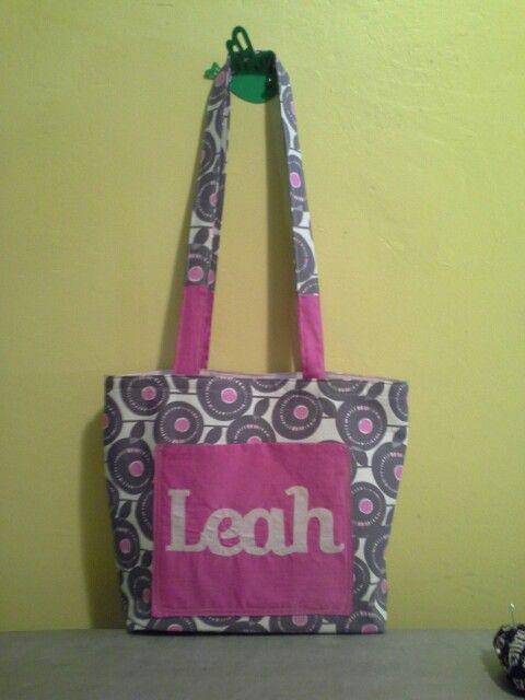Nikistix custom made dance bag :-)