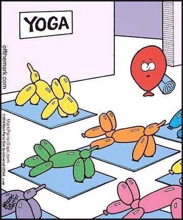 Жить с юмором легче и веселей. Шуточные и реальные картинки йоги. Это смешно. но в каждой шутке лишь доля шутки. Итак, Топ 30 лучших очень смешных картинок о йоге и жизни йогов. 1. А ты хочешь стать суперменом? 2. Если йога нужна даже Санте, значит она нужна всем :) 3. Совершенству нет... #юмор