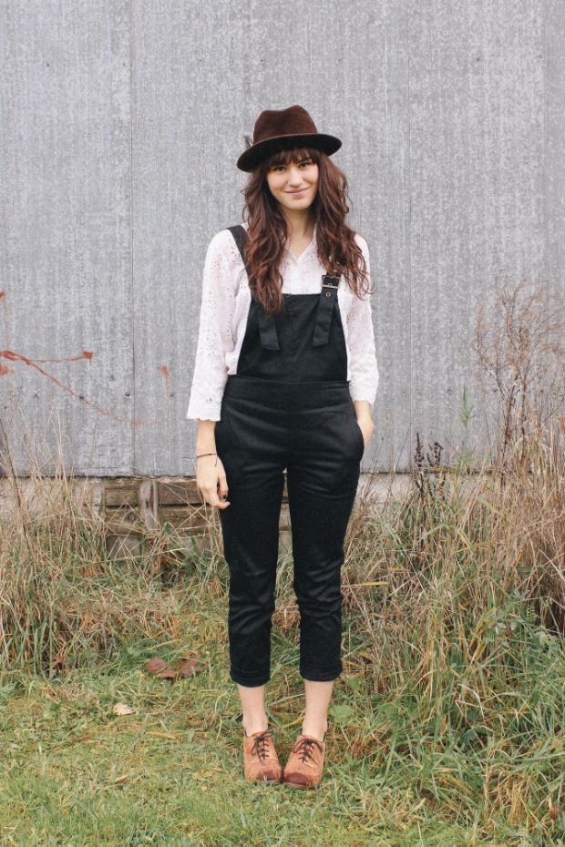 Overalls for fall! more on www.themoptop.com
