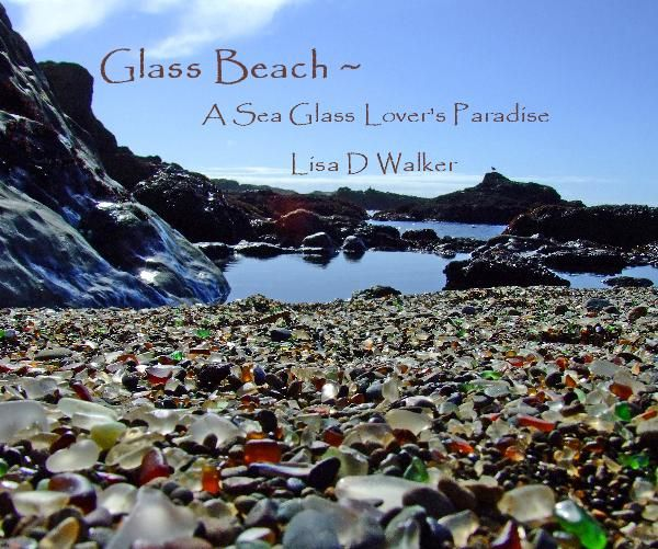 """Love """"The Glass Shore"""" in Mendocino, CA also one of my favorite places. ~ love filling up jars with the shells and glass :)"""