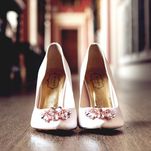 Ted Baker embellished bridal shoes