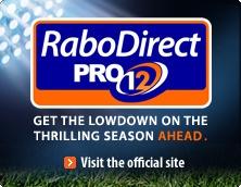 Official RaboDirect PRO12 Site - RaboDirect Ireland
