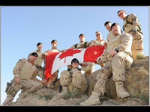 Canadian Armed Forces - Canadian Anthem - OH Canada