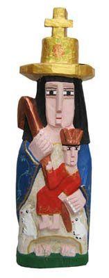 arte popular y artesanía de Venezuela: JESUS LOYO - TALLA EN MADERA