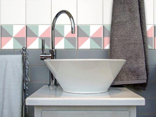 Schöne Fliesenkleber für dein Badezimmer * Ausgefallene Wandgestaltung * Interior * DaWanda