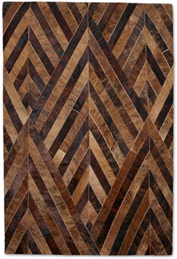 Andes Patchwork Leather Rug from the Leather Rugs Collection collection at Modern Area Rugs