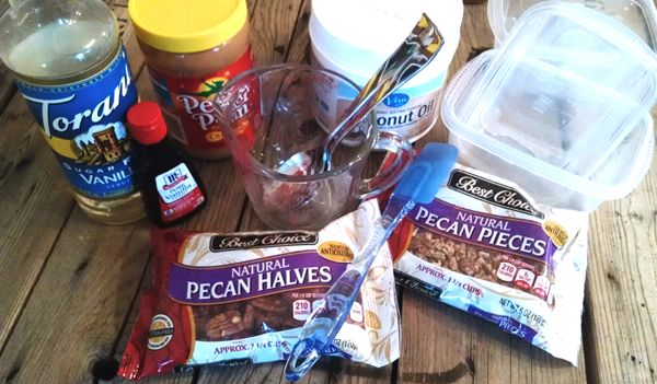 Ingredients for Low Carb Bars