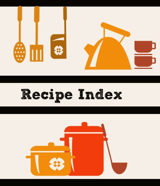 Chef In Disguise--Recipe Index