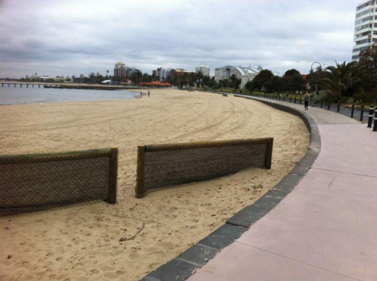 Saint Kilda beach