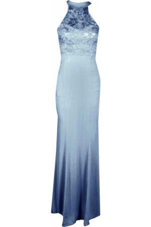 Dames Lange jurken - Boohoo Petite Kirsty Lace Panel Slinky Maxi Dress