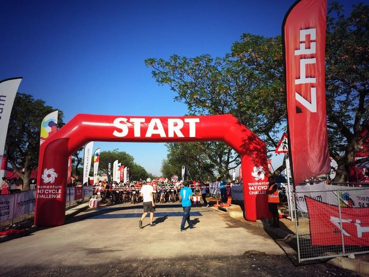 The #cc2014 Mountain Bike Challenge 30km & 55km races have just kicked off @momentum947