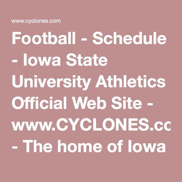 state college football schedule iowa college football schedule