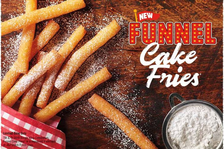 YES—Burger King Has Funnel Cake Fries! Funnel cake fries