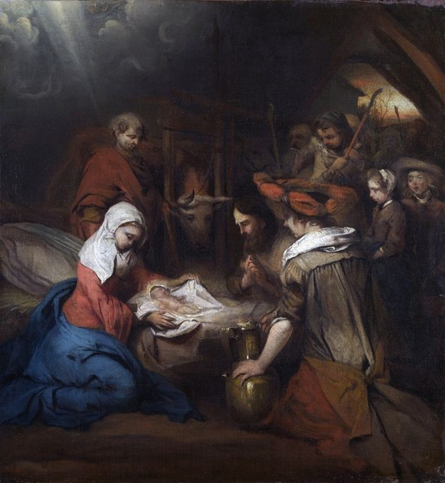 Карел Фабрициус (1622-1654) — Поклонение пастырей. 1667. Лондон. Национальная галерея.