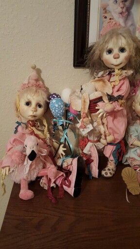 OOAK Eppie and Marra by Connie Lowe