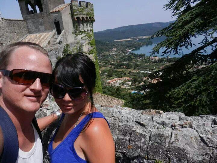 Lake Bracciano. Italy