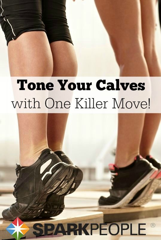 Smoke your calves in seconds with just one exercise! | via @SparkPeople #workout #fitness #exercise