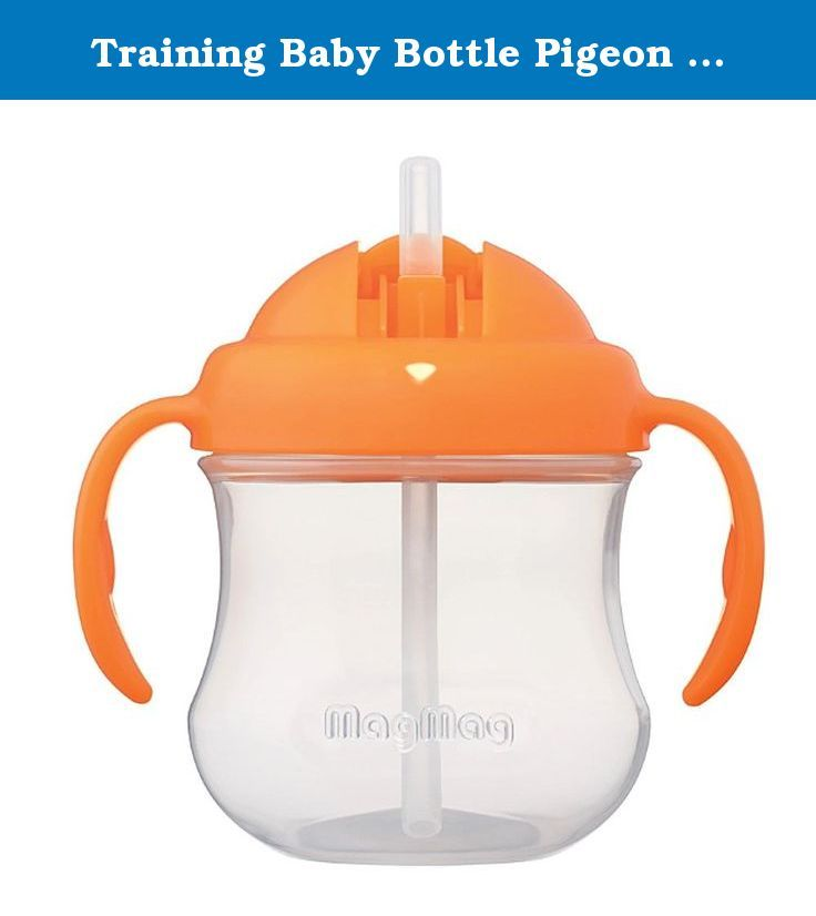 Training Baby Bottle Pigeon MagMag Step 3. Healthy Pigeon Cups MagMag Step 3 (orange) has a nipple ring and gasket. Made from silicone. Cup cap screw cap and the handle is made of Poly Property, Ontario. Ensure security as well. Usage The spout for babies aged 8 months or more. Terms of Use - Under the supervision of parents closely. - Do not use the pacifier nipple. - Suckling a long and continuous cause tooth decay. - Check the temperature of water or milk before feeding the baby…