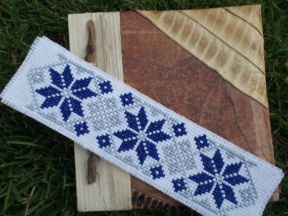 Bookmark Twin Cross Stitch Pattern for 2 by CamisTheCrossStitch