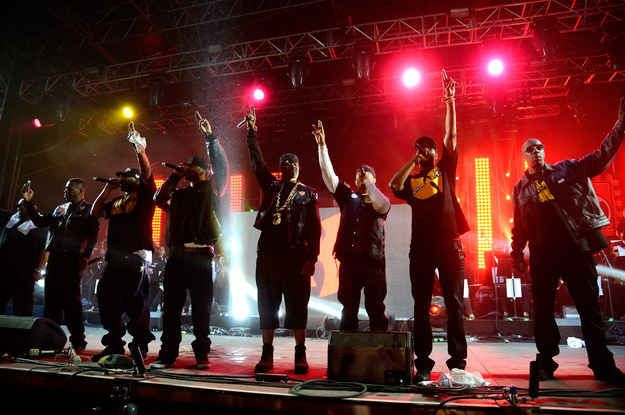 The Wu-Tang Clan have been a group for 23 years.