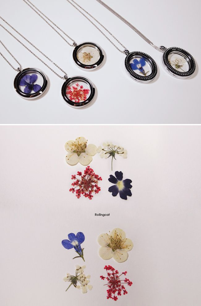glass locket pendant necklace