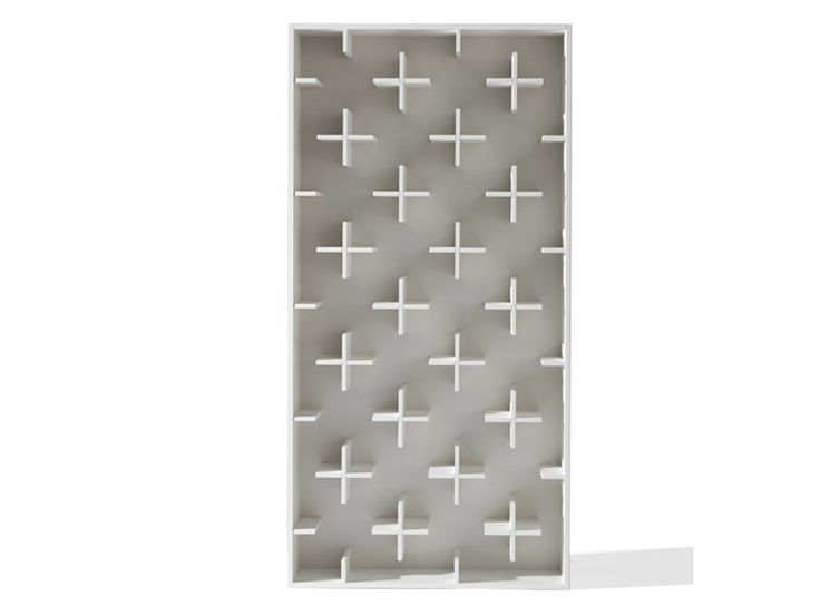 Open MDF bookcase TARGET by Arketipo | design Nendo