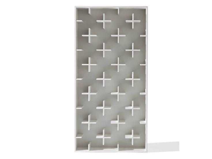 Open MDF bookcase TARGET by Arketipo   design Nendo