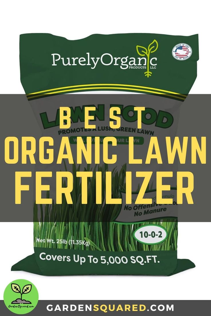 purely organic lawn food spreader settings
