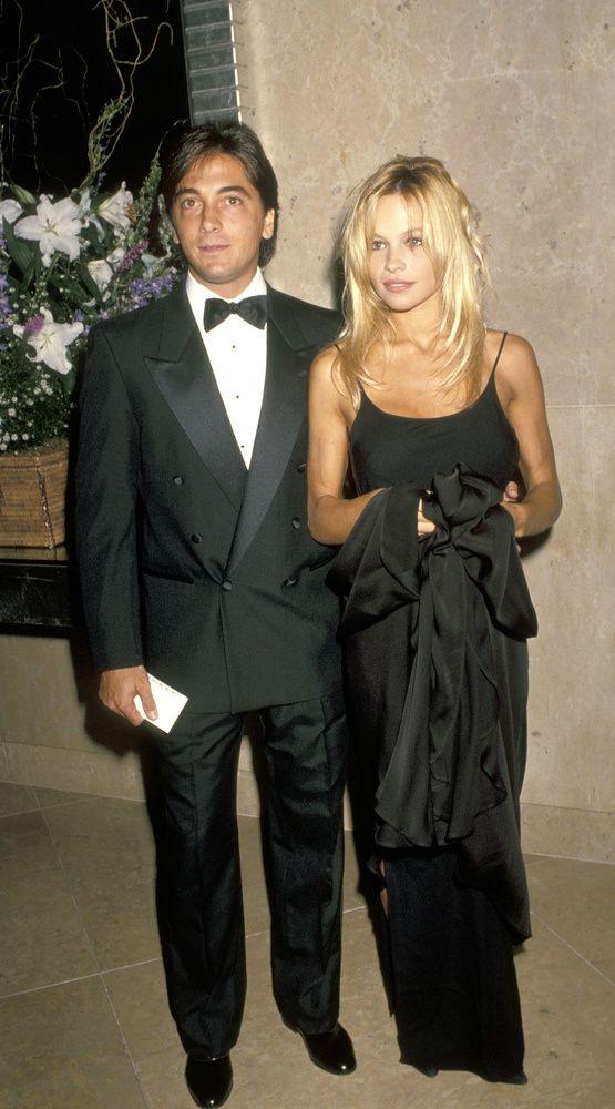 Pamela Anderson and Scott Baio