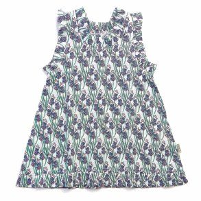 Summer favorite dress! Feeling the warm summer breeze? Lavender print makes sure the summer feeling is near at all times! GOTS certified organic.