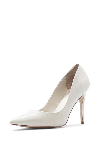 Купить кожаные белые туфли