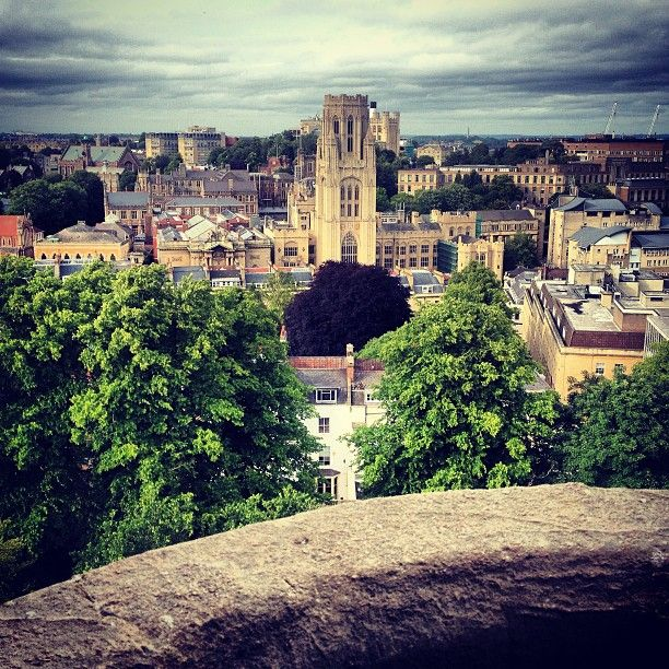 View from Cabot Tower, Bristol