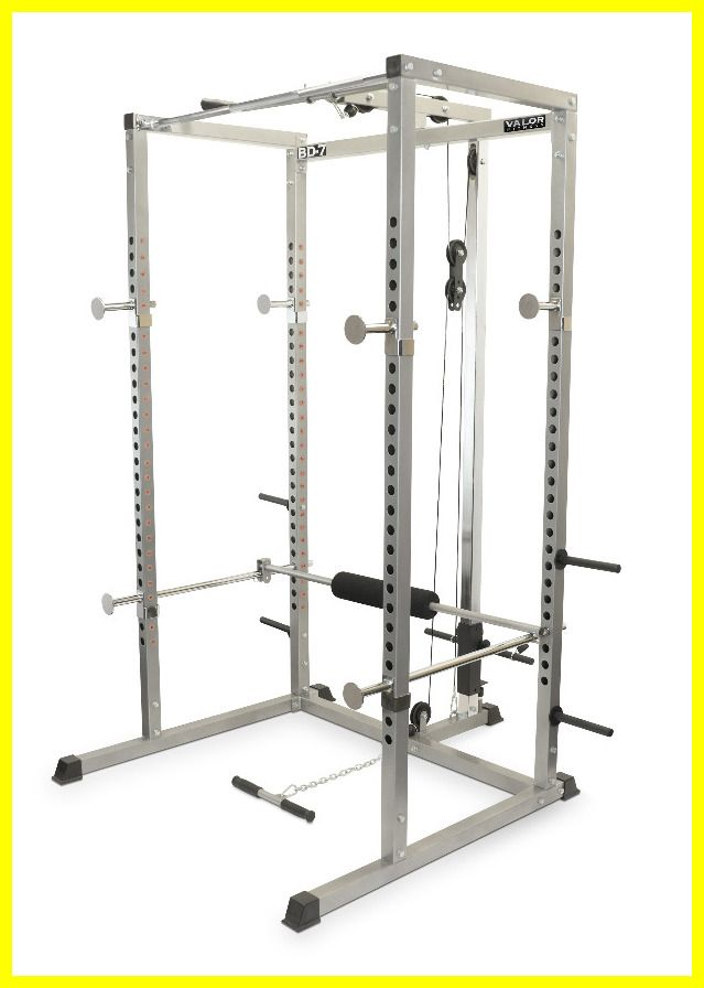 Pin On Body Solid Power Rack With Lat Pulldown