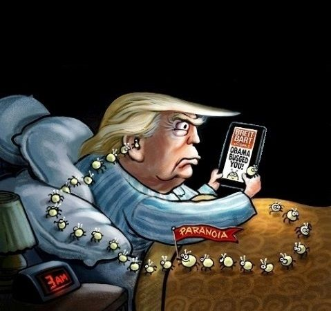 Trump: The Dark Times of 3:00am, 6:00am and weekend Paranoia ... oh, and then there's all those other times!!