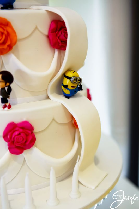 how to make a minion wedding cake topper despicable me minion despicable me wedding birthday 15822