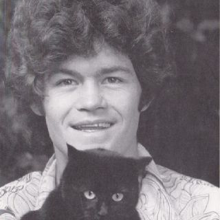 Micky Dolenz and a cat: Monk Business, Lucky Cats, Angel Singing, The Angel, Monk Men'S, Mischiev Mickie, The Monkees, Mickie Dolenz, Cats Dudes