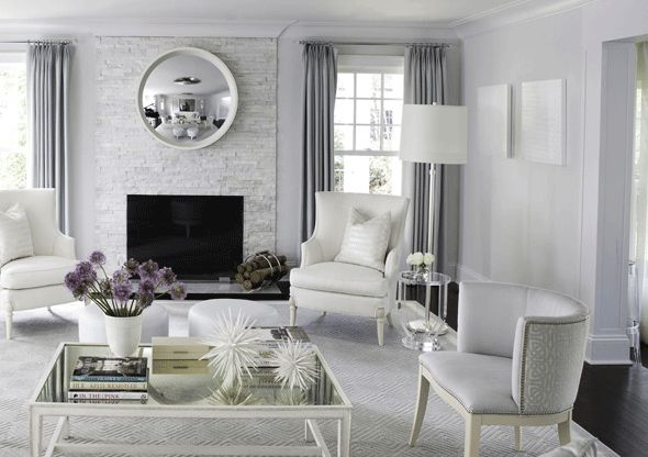 Great Light Modern Elegant, Modernpalette.com Interior Design | Interior Design:  Original Paintings As