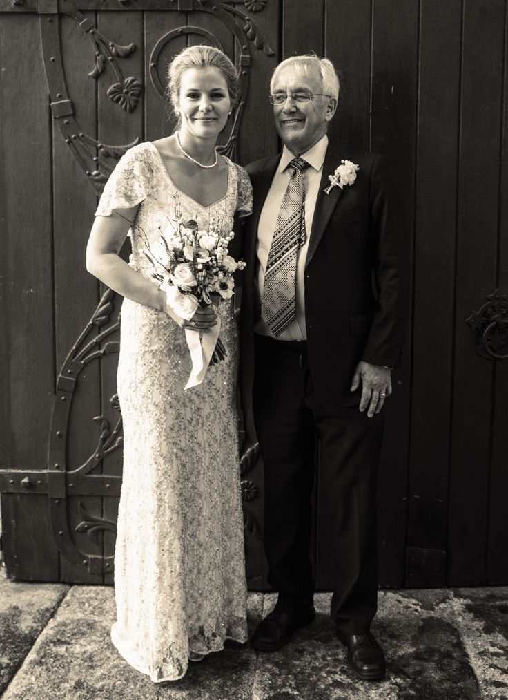 #wedding photography #bride #father of bride #german wedding #irish wedding #church wedding #vintage dress www.emmamay.ie