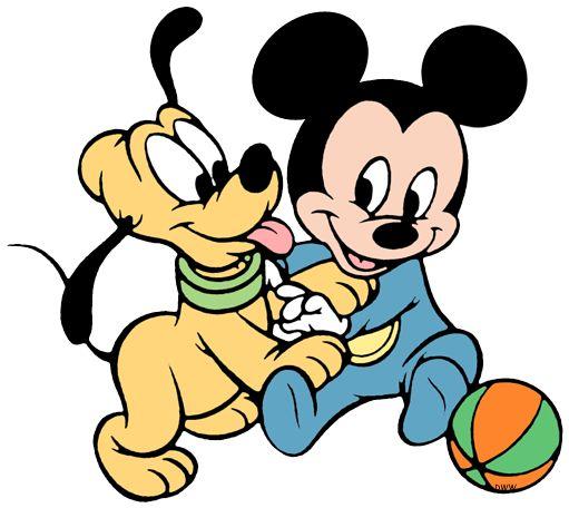 Resultado De Imagem Para Imagens Da Minnie Baby Com O Pluto