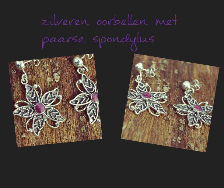 Stijlvolle en unieke handgemaakte zilveren oorbellen