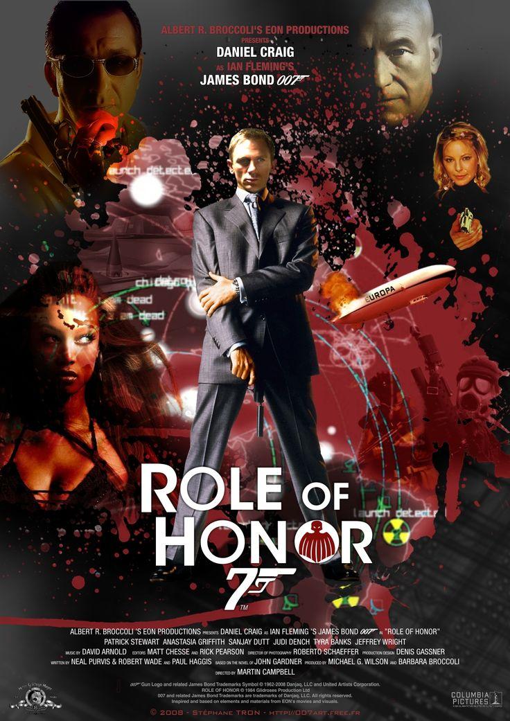 John Gardner - 'Role Of Honor' - Poster 1