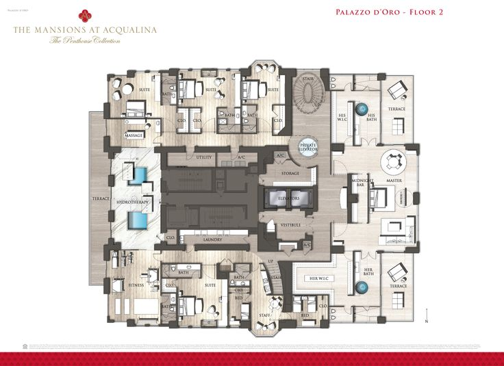 The Mansions at Acqualina Floor Plans Acqualina Condo Sales : Great Ideas  Luxury Penthouse Floor Plans Design Ideas