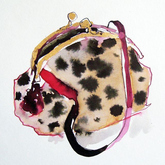 spotty bag by bridget davies, via Flickr