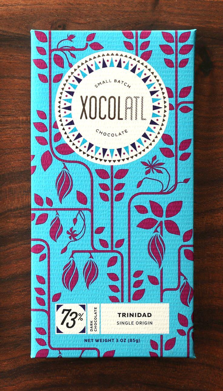 Xocolatl Chocolate. Atlanta, GA. design by JUKU Design. xocolatlchocolate.com jukudesign.com