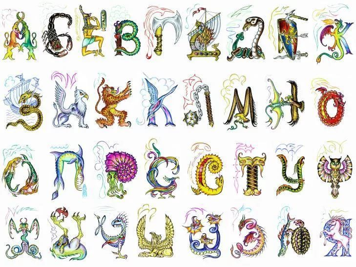 картинки необычного алфавита фотоэкспонометр прибор для