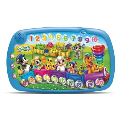 Leapfrog Touch Magic Counting Train, Retail, 2015 Amazon Top Rated Mathematics & Counting #Toy